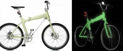Puma green glow bike
