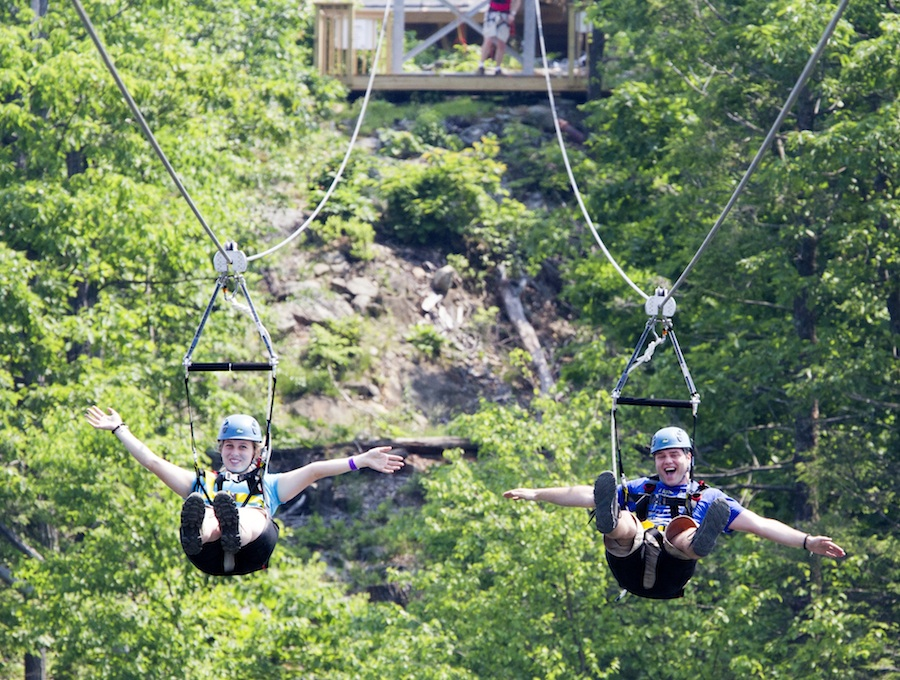 Ziplining Eco-Adventure comes to NJ with the opening of ...
