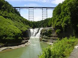 Portageville High Bridge in Letchworth State Park - soon to be history