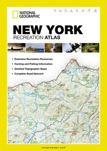 National Geographic NY State Recreation Atlas