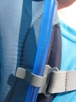 Handy tube clip on the CamelBack Cloud Walker day pack.