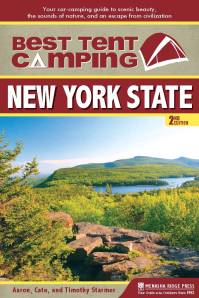 Best Tent Camping: New York State will release its 2nd edition in October, from Menasha Ridge Press.